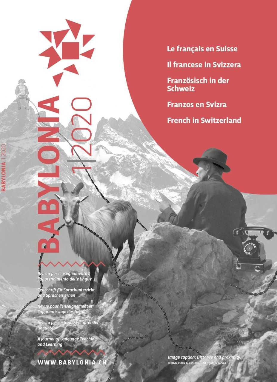 View Vol. 1 (2020): French in Switzerland
